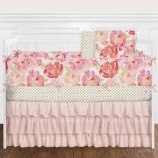 Crib Bedding Set With Bumper Baby Bedding And Crib Bedding