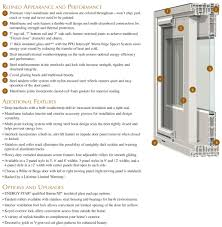 Gentek Patio Doors Gentek Building Products Diagram Details