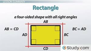 properties of shapes rectangles squares and rhombuses video