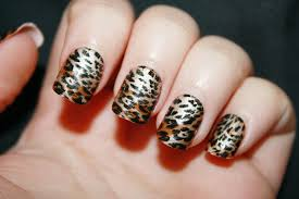Nail Designs Cheetah Cheetah Nail Designs You Can Try At Home Cakegirlkc Com