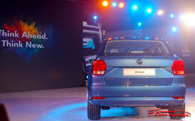 volkswagen new car ameo volkswagen ameo subcompact sedan revealed carzgarage