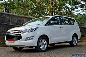 toyota innova toyota innova crysta petrol bookings open at inr 1 lakh launch in