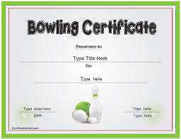 bowling certificate template imts2010 info