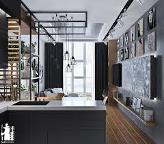 Interior Design Ideas For Kitchen Color Schemes Artistic Apartments With Monochromatic Color Schemes
