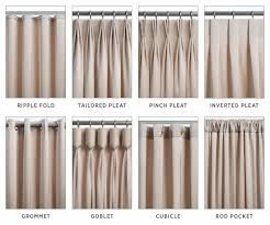 Drapery Ideas For Bedrooms Types Of Curtains For Windows Home Design Ideas