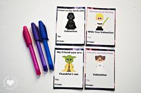 wars valentines day cards printable wars valentines day cards for the kids