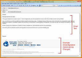corporate email signature template outlook 2018
