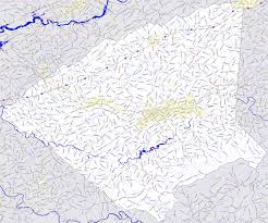 Tennessee Counties Map by Bridgehunter Com Greene County Tennessee