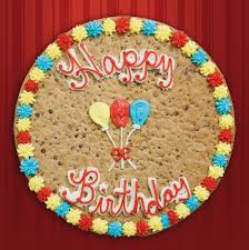 balloon and cookie delivery birthday cakes images happy birthday cookie cake picture