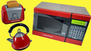 Morphy Richards Toaster Yellow Just Like Home Kitchen Appliance Set Playset Kids Toy Microwave