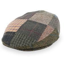 Patchwork Cap - sport tower wool patchwork cap