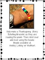 thanksgiving story bracelet free from grade wow