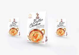 rajeevlalith freedom kitchen butter chicken packaging design