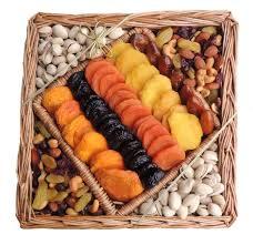 Nut Baskets Dried Fruit U0026 Nut Square Wicker Tray 40 Oz Shiva Sympathy