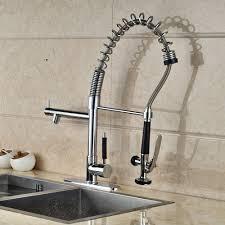 kitchen faucet plate reviews luxury solid brass kitchen faucet dual spouts vessel sink