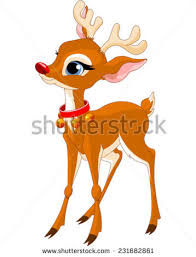 rudolph red nosed reindeer stock images royalty free images