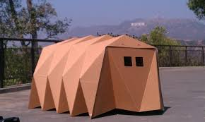 Cardboard Origami - cardborigami fuses cardboard and origami to shelter the homeless