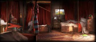 gryffindor bedroom image gryffindor boys dorm1 png harry potter wiki fandom