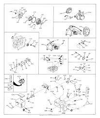 tecumseh hs40 55232a parts diagrams