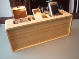 diy wood charging station product re al view kangaroom storage bamboo charging station