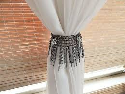 Best Places To Buy Curtains Mesmerizing Creative Curtain Tie Backs 49 About Remodel Bathroom