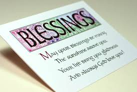 blessing cards blessings comments graphics