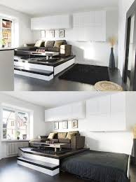 bedroom space ideas 44 best rénovation studio images on pinterest small apartments