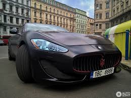 matte black maserati price maserati granturismo 15 may 2017 autogespot