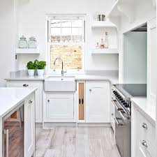 White Kitchen Cabinets With Tile Floor Stunning White Kitchen Cabinets Floor Ideas Grey Countertops Black