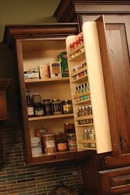 Kitchen Cabinet Door Spice Rack Cardinal Kitchens Baths Storage Solutions 101 Spice Accessories