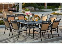 13 Piece Patio Dining Set - darlee outdoor living standard mountain view cast aluminum 9