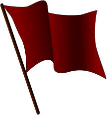 file maroon flag waving svg wikimedia commons