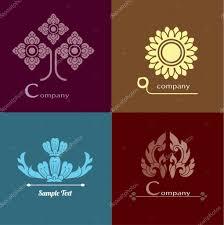 thai design thai design vector set of thai ornament design and decoration