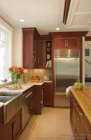 Cherry Kitchen Cabinets Pictures Traditional Dark Wood Cherry Kitchen Cabinets 26 Kitchen Design