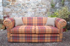 Tartan Chesterfield Sofa by Country Sofas Chesterfield Fully Customisable