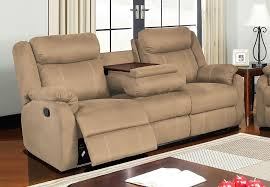 Reclining Sofa With Console by Living Rooms Sofa Loveseat Motion The Furniture Warehouse