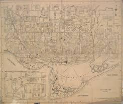foster u0027s map of toronto digital archive toronto public library