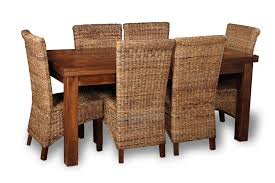 Beautiful Rattan Dining Room Sets Contemporary Room Design Ideas - Dining table with rattan chairs