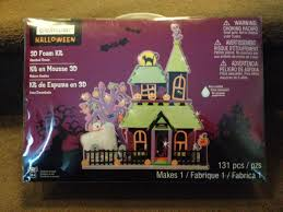 best halloween by creatology haunted house 3d foam kit 131 pieces
