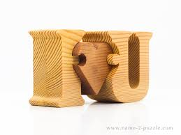 wood gifts wooden gifts unique 3d name puzzles best personalized gifts