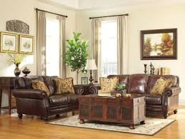 Lancaster Leather Sofa Lancaster Traditional Genuine Leather Sofa Couch U0026 Loveseat Set
