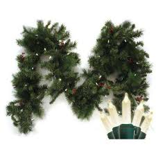 battery garland wreaths garland the