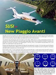 avanti brochure aircraft jet engine