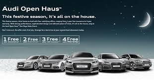 audi insurance audi malaysia launches hari raya open haus promo 1 year free