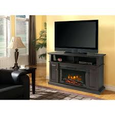 electric fireplace heater insert logs lowes with stone dark brown