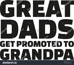 great dads get promoted to great dads get promoted stock vector 532020673