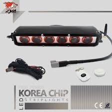 car led light strip lyc car led light strip lightbar warning led flashing lights 12v