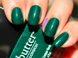 butter london british racing green swatches u0026 review