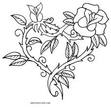 inspirational rose heart tattoo design for boys picsmine