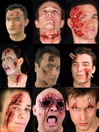 halloween prosthetic makeup kits halloween woochie latex kit prosthetic zombie vampire burn injury